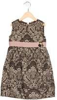 Dolce & Gabbana Girls' Jacquard Embellished Dress