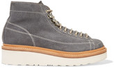 Grenson Annie suede ankle boots