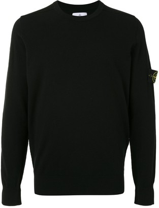 Stone Island Logo Patch Jumper