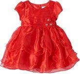 Nannette Toddler Girl Tiered Petal Dress