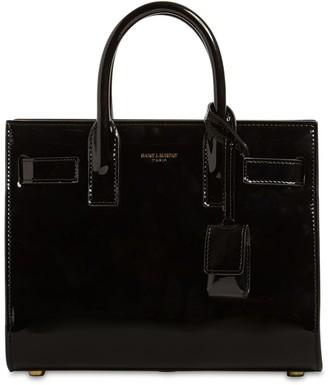 Saint Laurent Sak De Jour Nano Patent Leather Bag