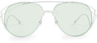 For Art's Sake Dark Eyes 61MM Teardrop Sunglasses