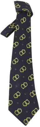 Gucci Navy Silk Ties
