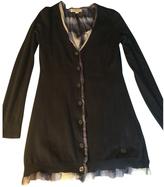 Burberry Navy Wool Knitwear