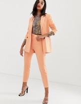 Asos Design DESIGN cantaloupe slim suit trousers