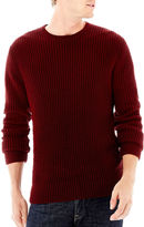 Claiborne Chunky Crewneck Sweater