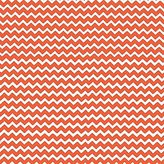 BABYBJÖRN SheetWorld Fitted Sheet (Fits Travel Crib Light) - Orange Chevron Zigzag - Made In USA - 24 inches x 42 inches (61 cm x 106.7 cm)