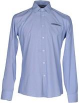 Grey Daniele Alessandrini Shirts - Item 38668288
