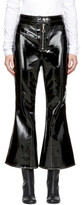 Ellery Black Sipsi Flared Cropped Trousers