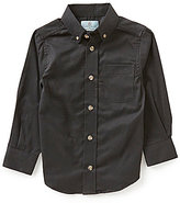 Class Club Little Boys 2T-7 Solid Twill Shirt