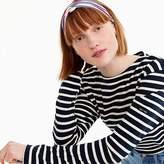 J.Crew Soft twist headband in stripe