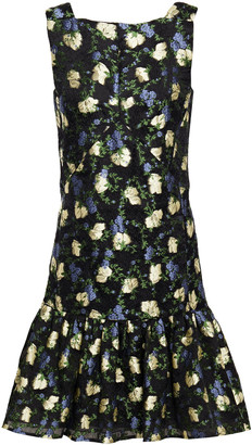 Erdem Nichola Futed Fil Coupe Organza Dress