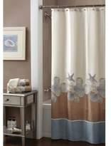 Croscill Shells Ashore 70-Inch x 72-Inch Shower Curtain