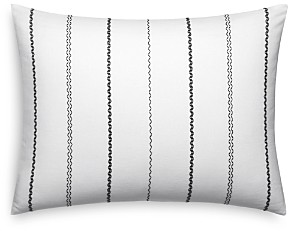 Vera Wang Chevron Stitching Decorative Pillow, 15 x 22