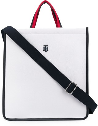 Tommy Hilfiger Logo Top-Handle Tote
