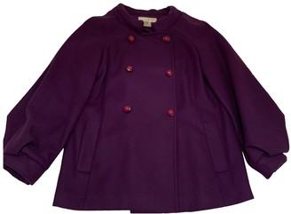 Paul & Joe Purple Wool Coat for Women