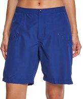 Maxine Women's Solid Woven Long Boardshort 45204