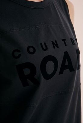 Country Road Verified Cotton Modern Logo Tank Dress
