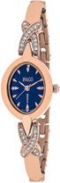 Jivago Womens Rose Goldtone Bracelet Watch-Jv3614