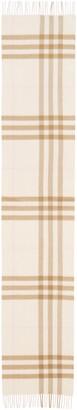 Burberry Icon Check Cashmere Scarf