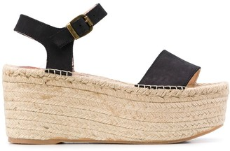 Manebi Platform Espadrille Sandals