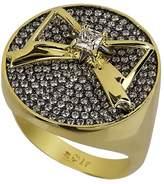 Noir Women's Star & Bow Ring