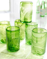 Horchow Recycled Glass Highballs