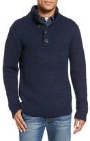 Schott NYC Men's Military Henley Sweater
