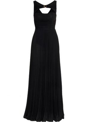 Elisabetta Franchi Cut-Out Maxi Dress