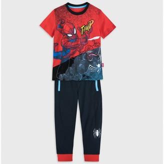 Spiderman Boys 2pc Top Bottom Set - Red/Blue/Black - Disney Store