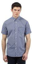 Ben Sherman Navy Checked Print Shirt
