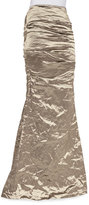Nicole Miller Techno Metal Mermaid Skirt, Cava