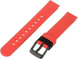 Hadley Roma b&nd by with Mode 22mm Silicone Black Watch Strap