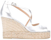 Castaner Bisse wedged espadrilles - women - Raffia/Leather/rubber - 40