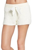 Make + Model Women's Fuzzy Lounge Shorts