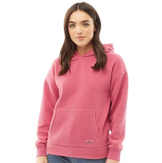 Board Angels Womens Fleece Hoodie Pink