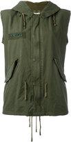 As65 - military embroidered gilet - women - Cotton/Nylon - S