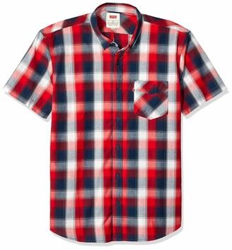 Levi's Men's Short Sleeve Woven Shirt