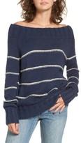 Billabong Women's Snuggle Down Off The Shoulder Sweater