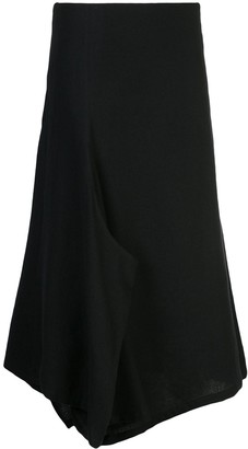 Y's Drape Oversized Panelled Trousers