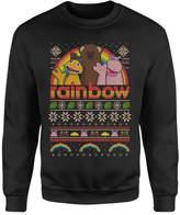 Rainbow Christmas Sweatshirt - Black