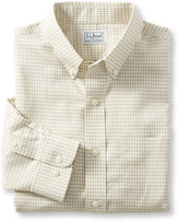 L.L. Bean Wrinkle-Free Mini-Check Shirt, Traditional Fit