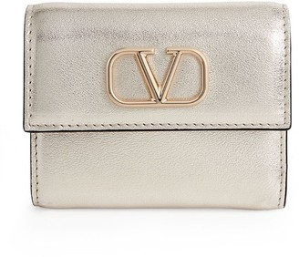 Valentino Garavani Mini VLOGO Trifold Wallet