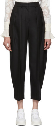See by Chloe Black City Wool Trousers