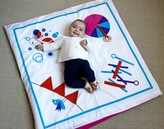 Organic Playmat Fun Shapes