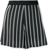 Lanvin striped shorts - women - Spandex/Elastane/Viscose - 36