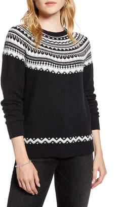 1901 Fair Isle Shrunken Crewneck Sweater