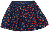 Polo Ralph Lauren Cotton Flounce Skirt (Little Kids)