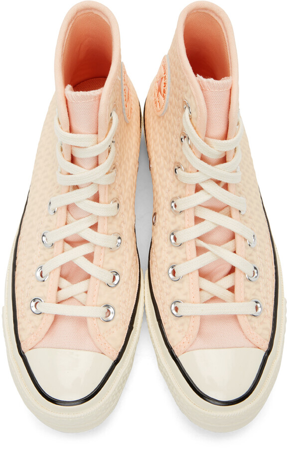 Thumbnail for your product : Converse Pink Chuck 70 Hi Sneakers