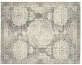 Pottery Barn Barret Printed Wool Rug - Gray